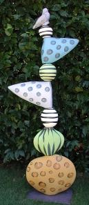 Stacking Garden Sculpture
