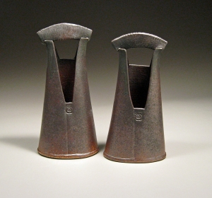 Two Handled Vases