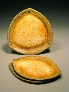 Triangle and Leaf Plates